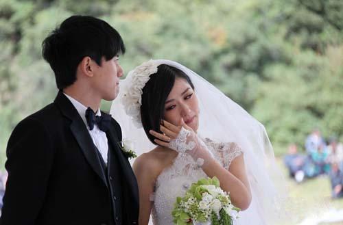 杰娜温馨浪漫情侣婚纱图片_白首不相离