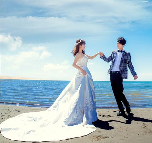 誓言的嫁衣情侣图片_给你幸福的时刻