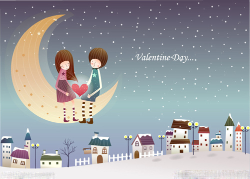 爱情故事故事动漫图片_冬日唯美恋歌卡通图片_这个冬季有你不在寒冷_爱情163小说网