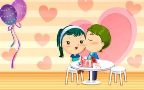 可爱卡通爱情图片_幸福一辈子