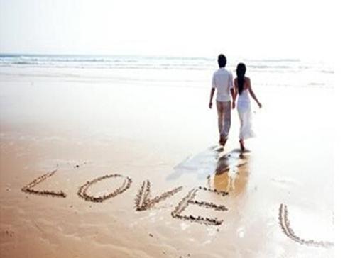 情侣写书文字素材