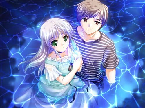 163 - Dessin manga amoureux ...