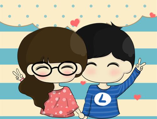 小希阿树卡通图片_小希与阿树的幸福爱情